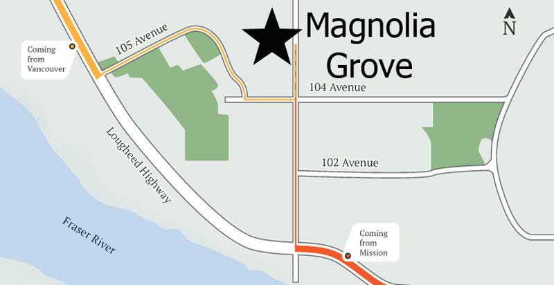 Directions to Magnolia Grove
